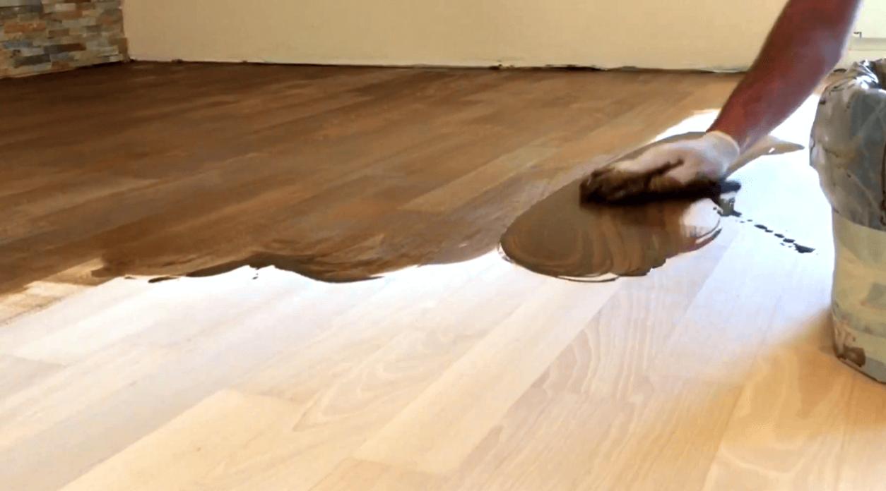 Как затонировать деревянный пол