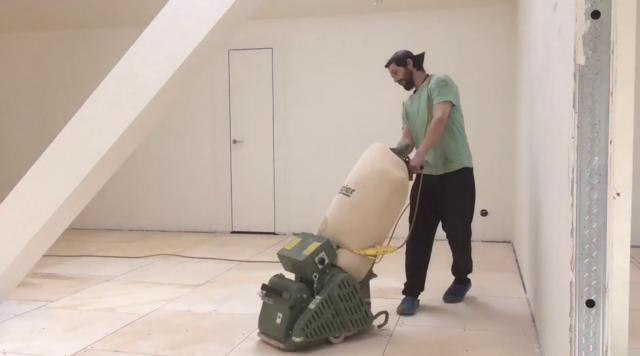 Циклевка фанеры